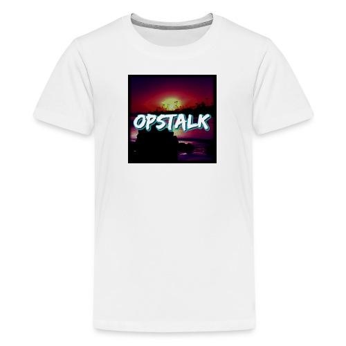 OpsTalk Logo - Teenage Premium T-Shirt