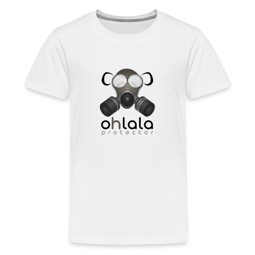 OHLALA PROTECTOR BLK - Teenager Premium T-Shirt
