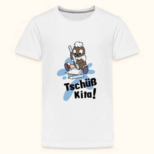 Pittiplatsch Tschüß Kita! - Teenager Premium T-Shirt