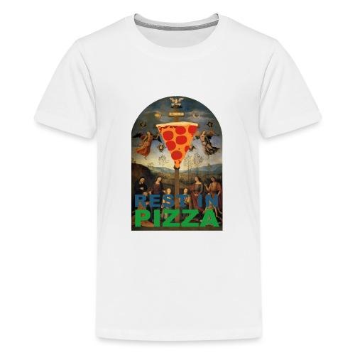 Rest In Pizza - T-shirt Premium Ado
