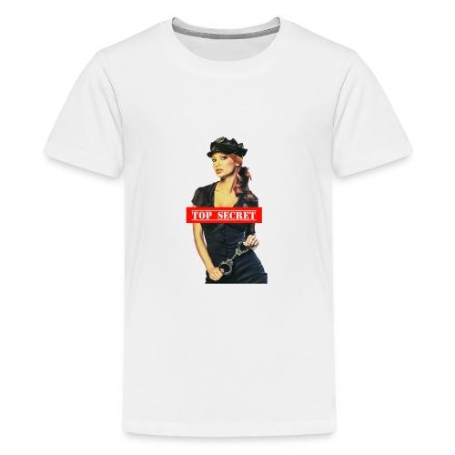 Woman Cop - Maglietta Premium per ragazzi