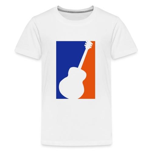 Gitarre (Baseball Style) - Teenager Premium T-Shirt