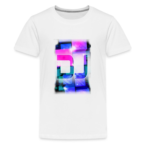 DJ by Florian VIRIOT - T-shirt Premium Ado