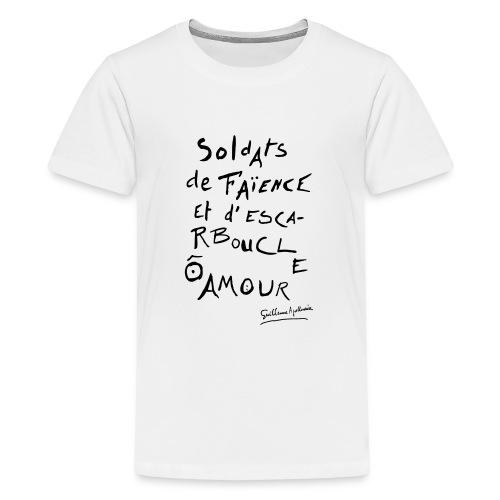 Calligramme - Soldat de faillance - T-shirt Premium Ado
