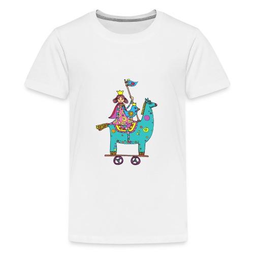 La princesse en voyage - T-shirt Premium Ado