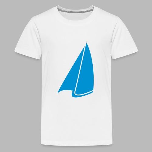 Segel Einfarbig - Teenager Premium T-Shirt