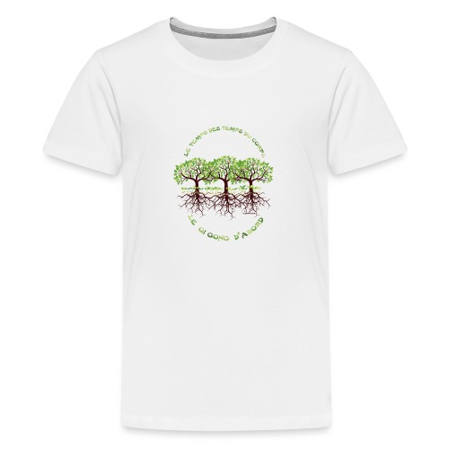 T-shirt les temps du corps, Lembrun 2016/Qi Gong - T-shirt Premium Ado