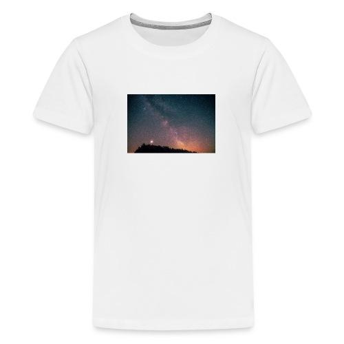 Milchstraße Fotografie Galaktisches Zentrum - Teenager Premium T-Shirt