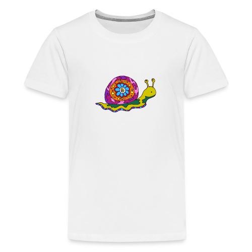 Gino l'escargot - T-shirt Premium Ado
