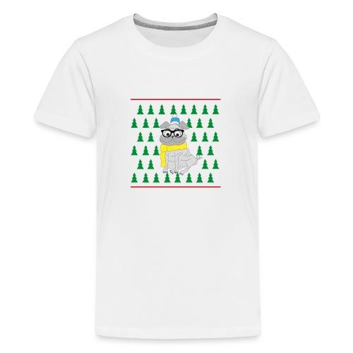 Hipster Mops - Teenager Premium T-Shirt