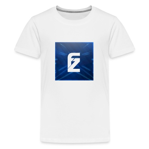 FLeXzZ_Logo_YT - Teenager Premium T-shirt