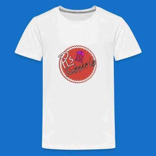 PLsSubscrib - Teenage Premium T-Shirt