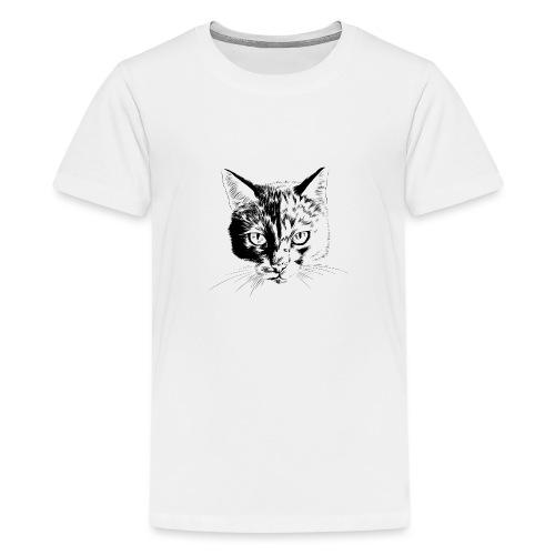 Katzen Portrait - Teenager Premium T-Shirt