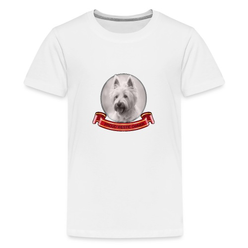 Proud dog owner - Teenage Premium T-Shirt