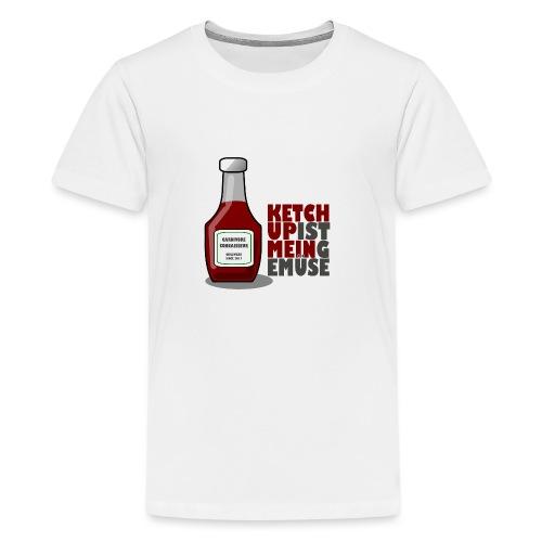 Ketchup ist mein Gemüse (Grillshirt) - Teenager Premium T-Shirt