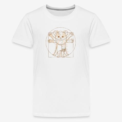 Zcooly Vitruvian Pi - Premium-T-shirt tonåring