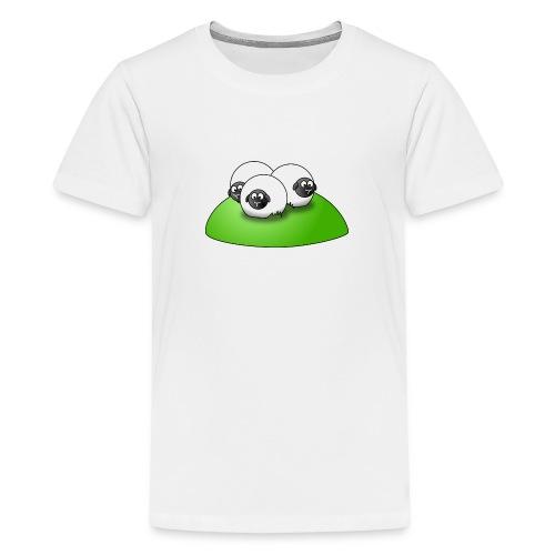 schafe auf hügel - Teenager Premium T-Shirt