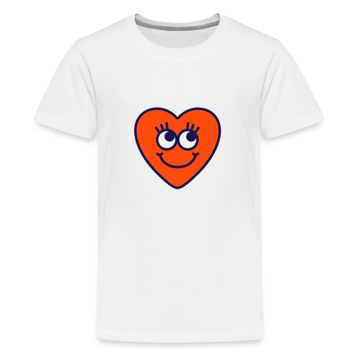 love hart - Teenager Premium T-shirt