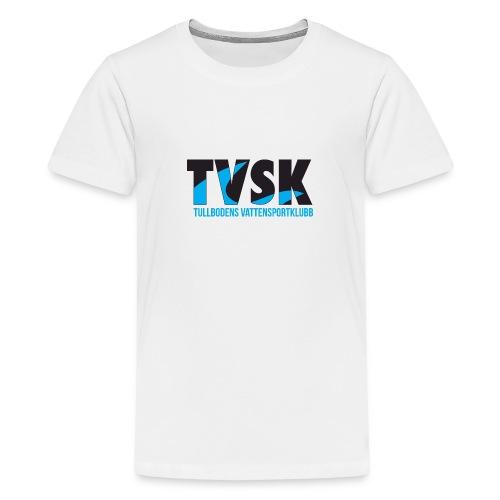 TVSKs färglogo - Premium-T-shirt tonåring