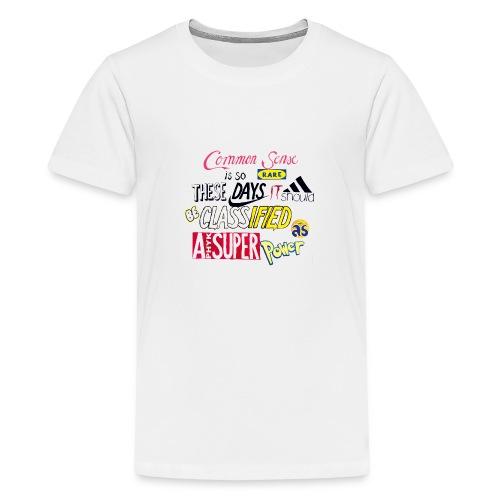 PHYK-logoja - Teinien premium t-paita