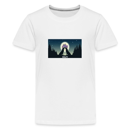 Wolfy - Teenage Premium T-Shirt