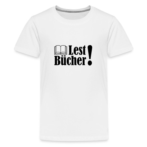 Lest Bücher ! 2 - Teenager Premium T-Shirt