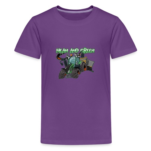 F 718Vario mean and green - Teenager Premium T-shirt