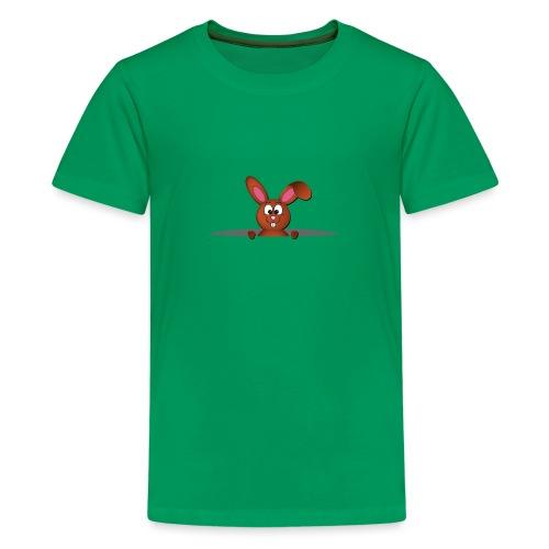 Cute bunny in the pocket - Maglietta Premium per ragazzi