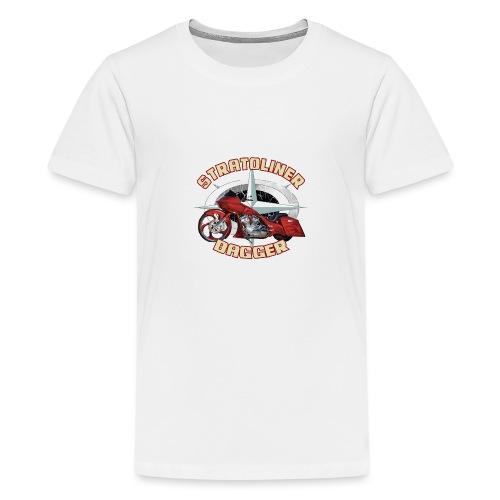 Stratoliner bagger 01 - Teenager Premium T-shirt