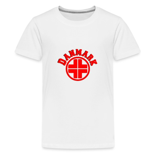 Denmark - Teenage Premium T-Shirt