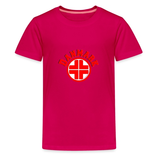 Denmark - Teenage Premium T-Shirt
