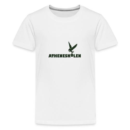 Mørkt logo - Teenager premium T-shirt