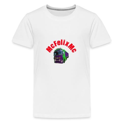 Truck DAF XF mit Namen - Teenager Premium T-Shirt