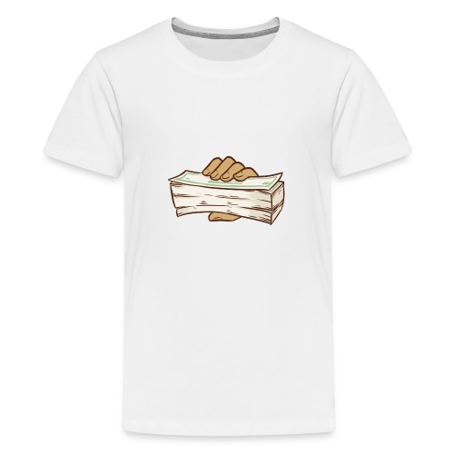 BANDZ All White Everything Tee - Teenage Premium T-Shirt