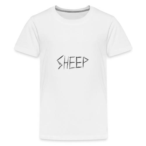 sheep. - Teenage Premium T-Shirt
