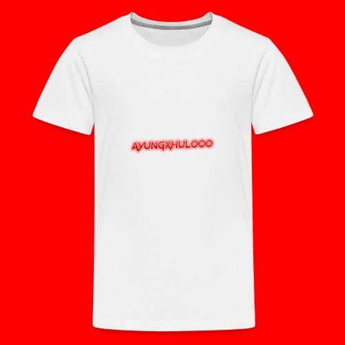 AYungXhulooo - Neon Redd - Teenage Premium T-Shirt