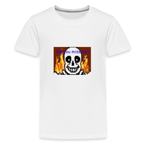 tshirt design - Premium T-skjorte for tenåringer