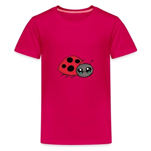 Pirouette la coccinelle - T-shirt Premium Ado