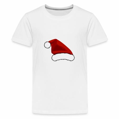 Joulutontun lakki - tuoteperhe - Teinien premium t-paita