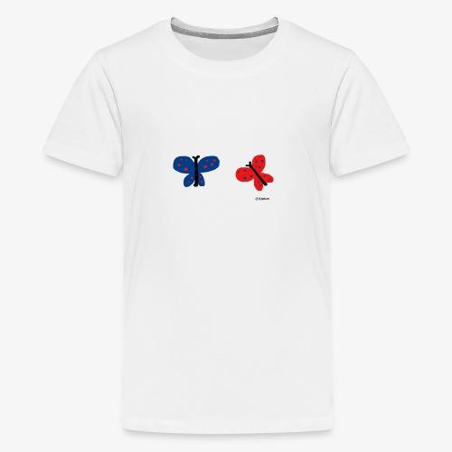 Perhoset - Teinien premium t-paita