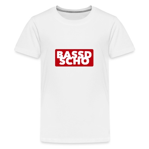 BASSD SCHO - Teenager Premium T-Shirt