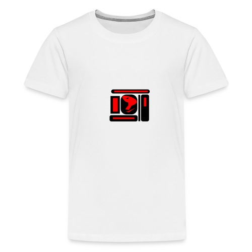 black and red hot P - Teenager Premium T-Shirt