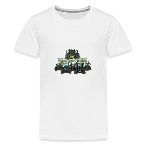 MeanAndGreen6F - Teenager Premium T-shirt