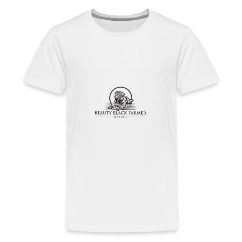 Beauty Black Farmer - Teenager Premium T-Shirt