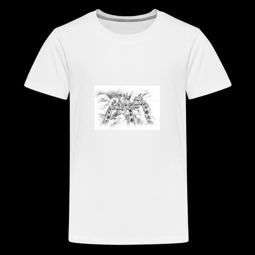 les girafes bavardes - T-shirt Premium Ado