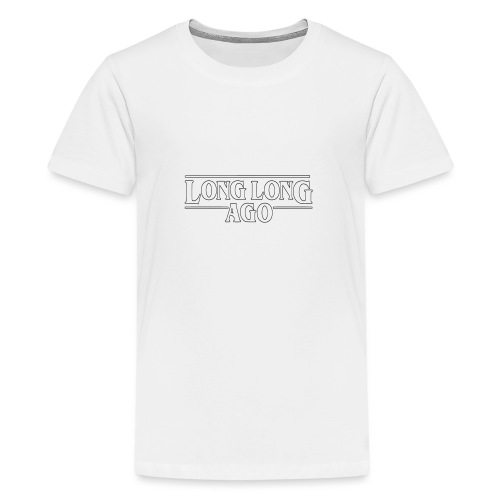LONG LONG AGO Vector (outline) - Teenager Premium T-Shirt