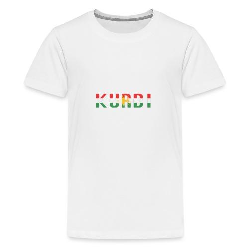 KURDI LOGO - Teenager Premium T-Shirt