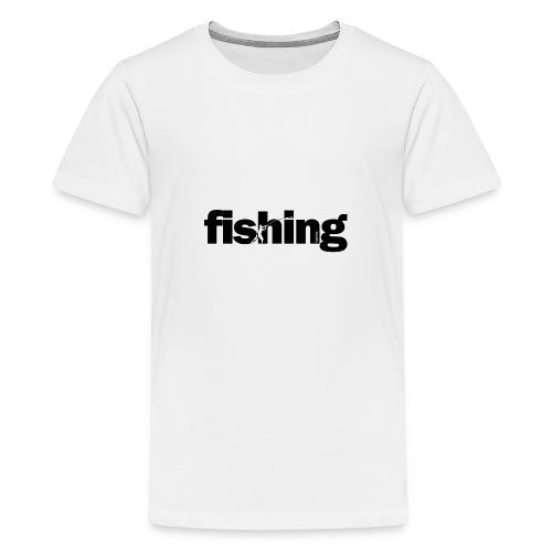 Word Fishing - Camiseta premium adolescente