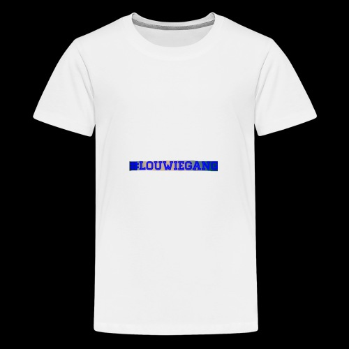 Louwie gang - Premium-T-shirt tonåring