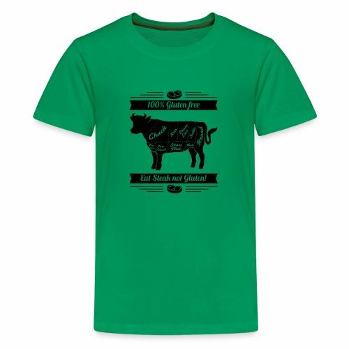 Humorvolles Design für Fleischliebhaber - Teenager Premium T-Shirt